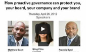 Corporate Secretary Webinar: How proactive governance can protect you, your company and your brand